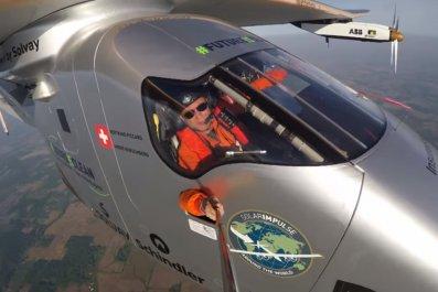 solar impulse selfie video