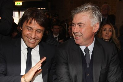 Conte and Ancelotti