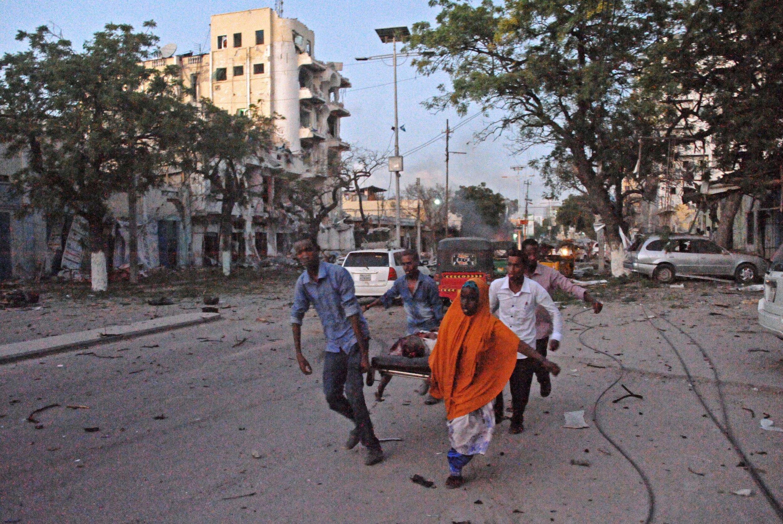 Victim of Al-Shabab attack.