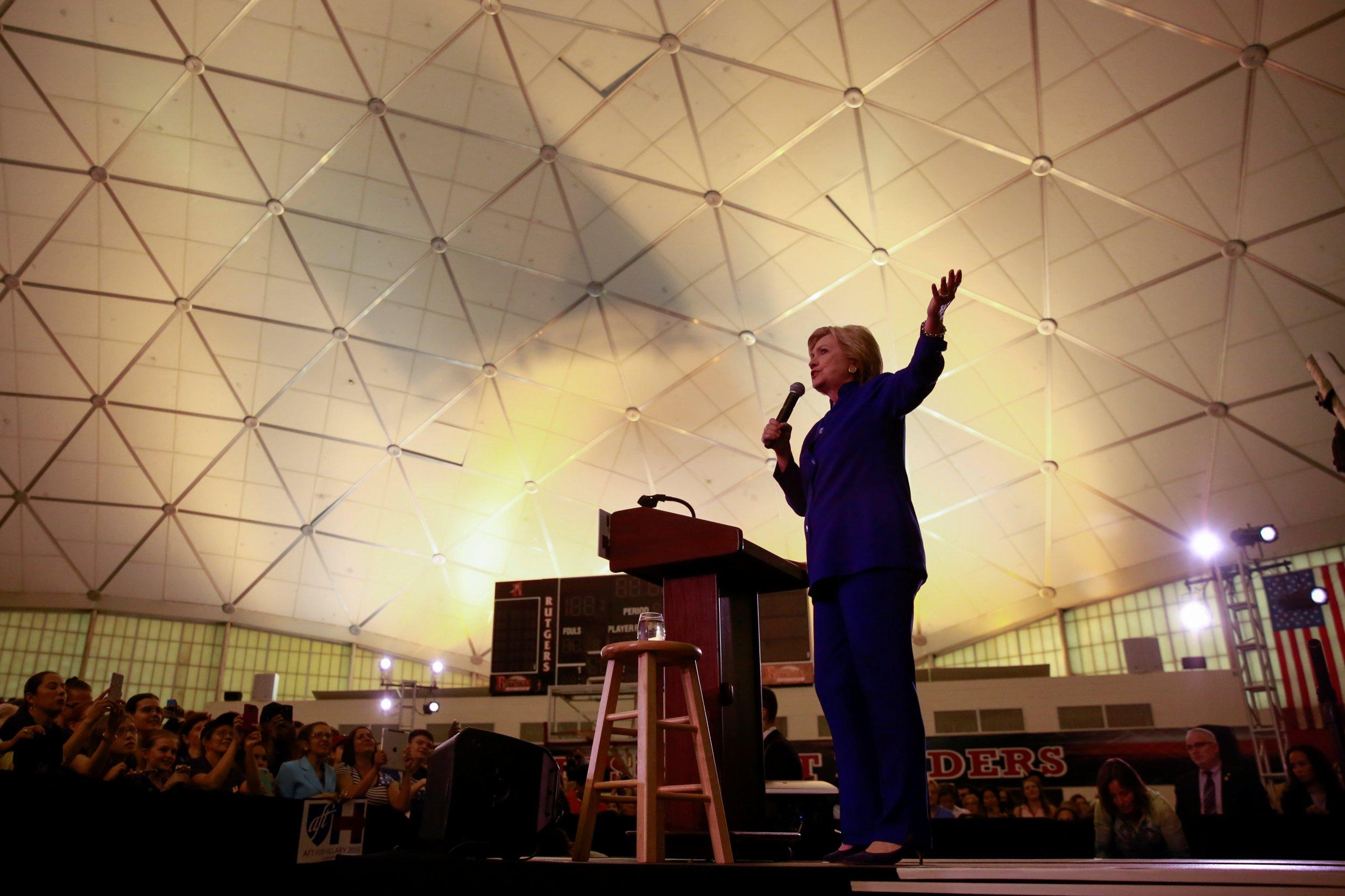 Hillary Clinton at Rutgers University