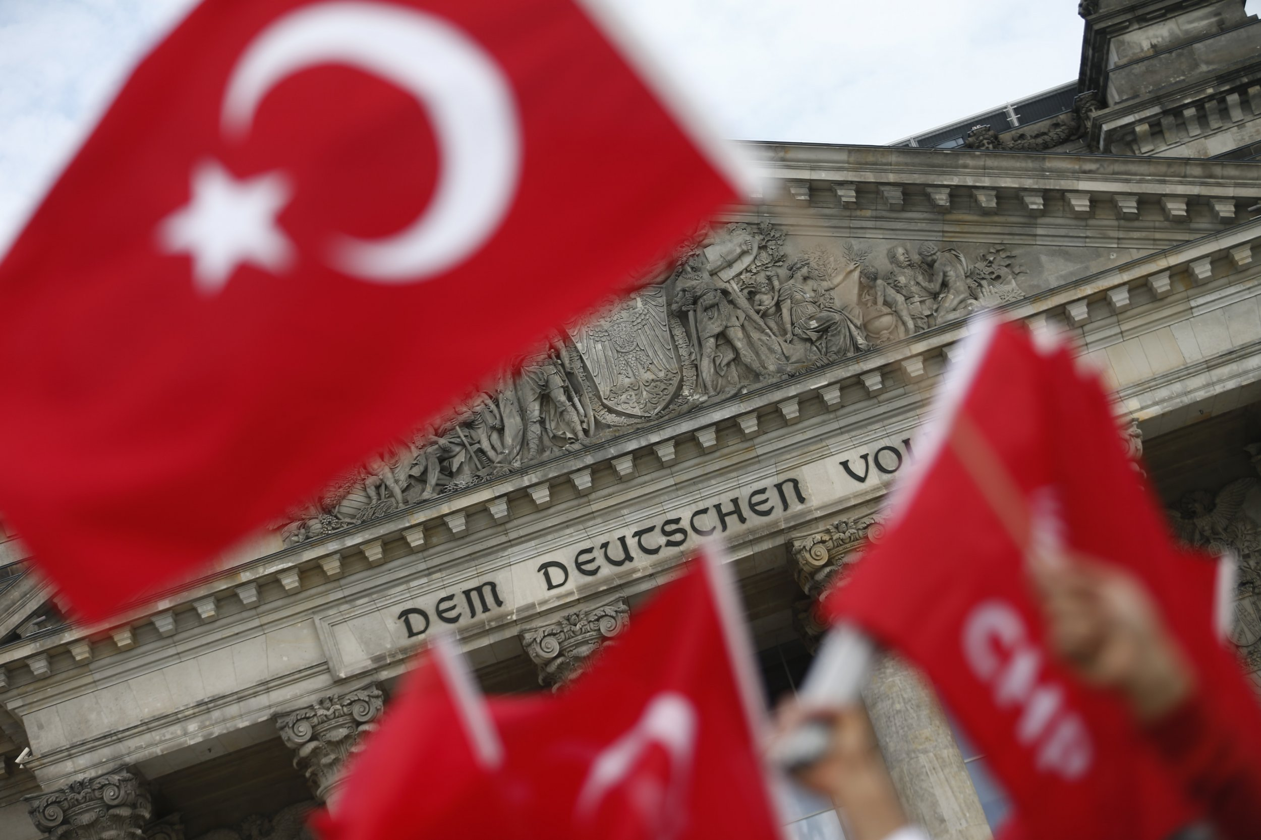 Turkey Germany Armenia Vote Protests