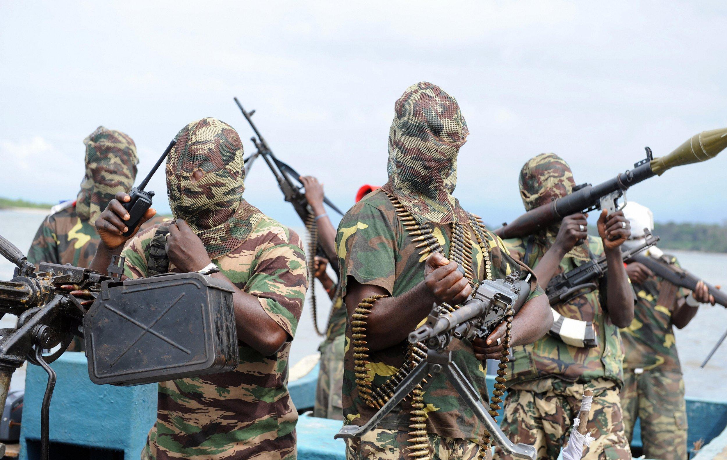 Niger Delta militants.