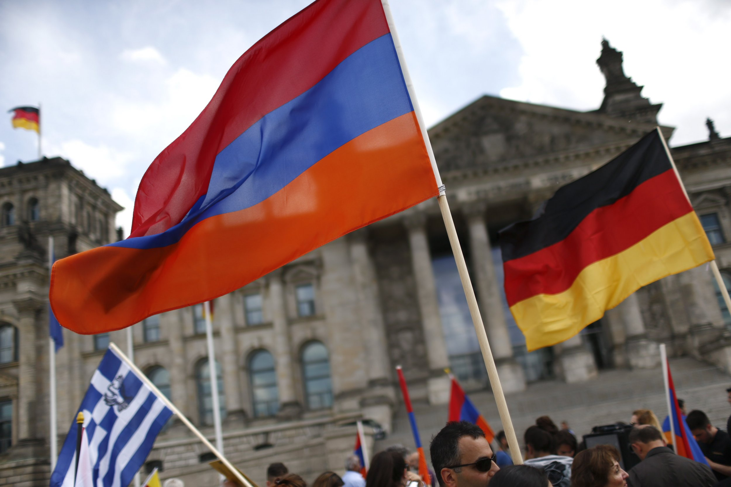 Armenia Protests In Germany
