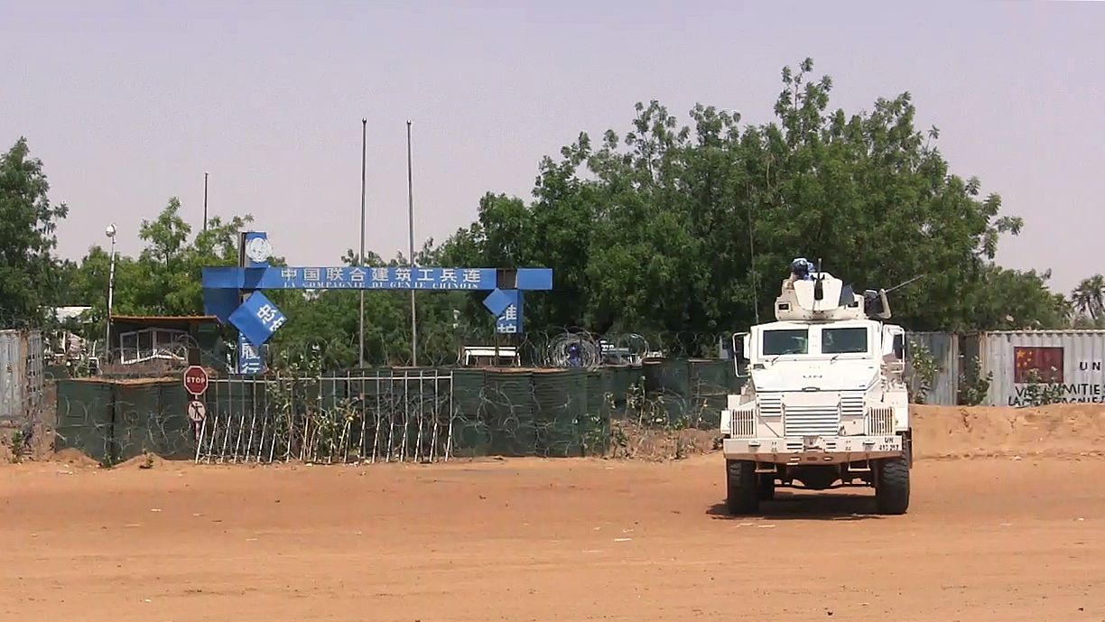U.N. peacekeepers in Gao, Mali.