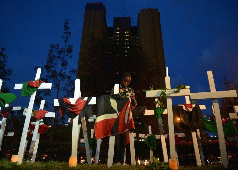 Garissa victims vigil.
