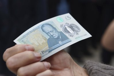 £5 note featuring Sir Winston Churchill