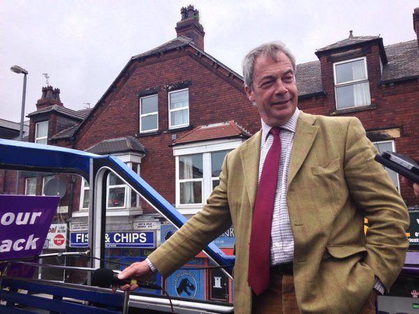 Nigel Farage battlebus