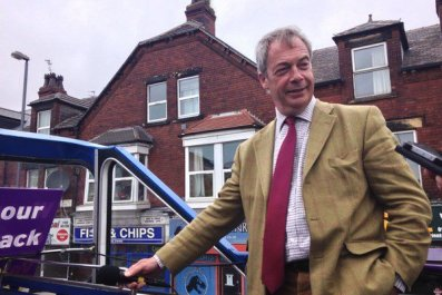 Nigel Farage battlebus