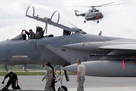 U.S. F15 fighter