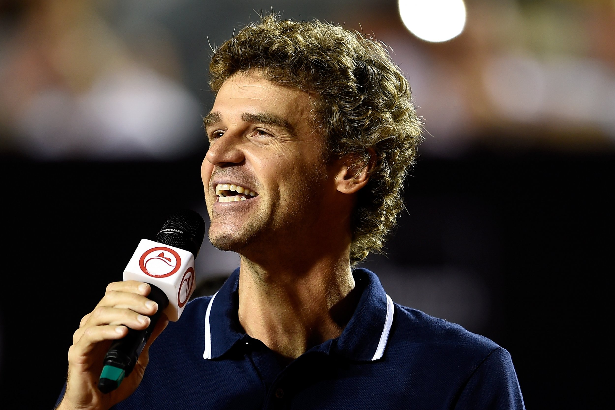 Three-times French Open winner Gustavo Kuerten.