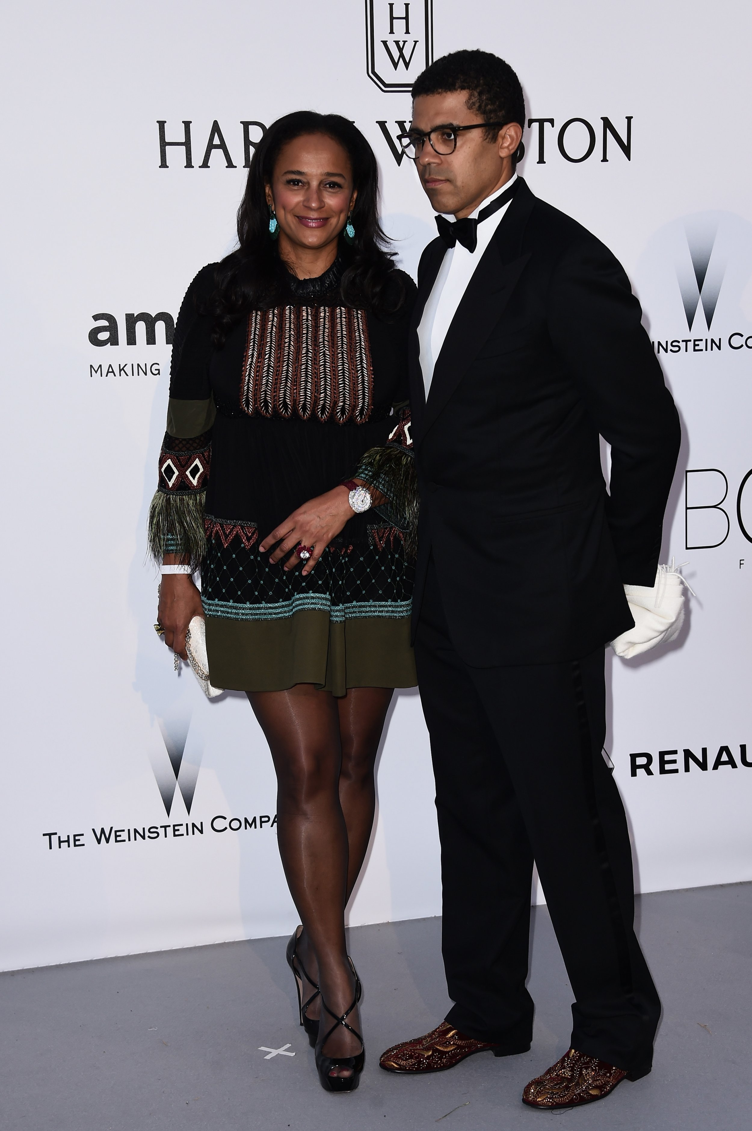 Isabel dos Santos and husband Sindika Dokolo.