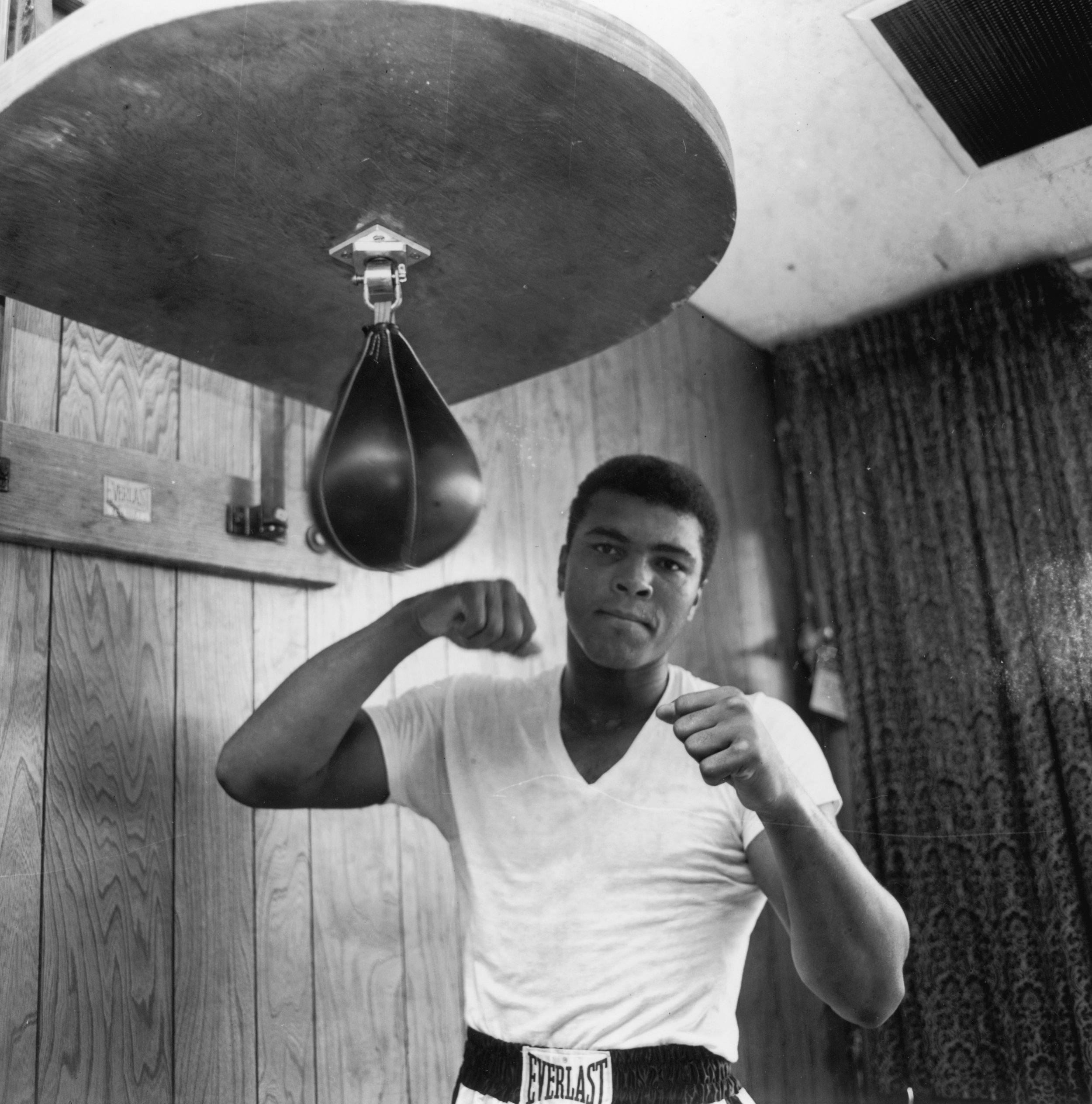 Former world heavyweight champion Muhammad Ali.