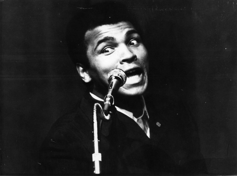 Boxing icon Muhammad Ali, who has died aged 74.