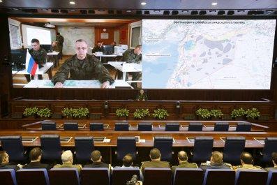 Russian defence officials meet