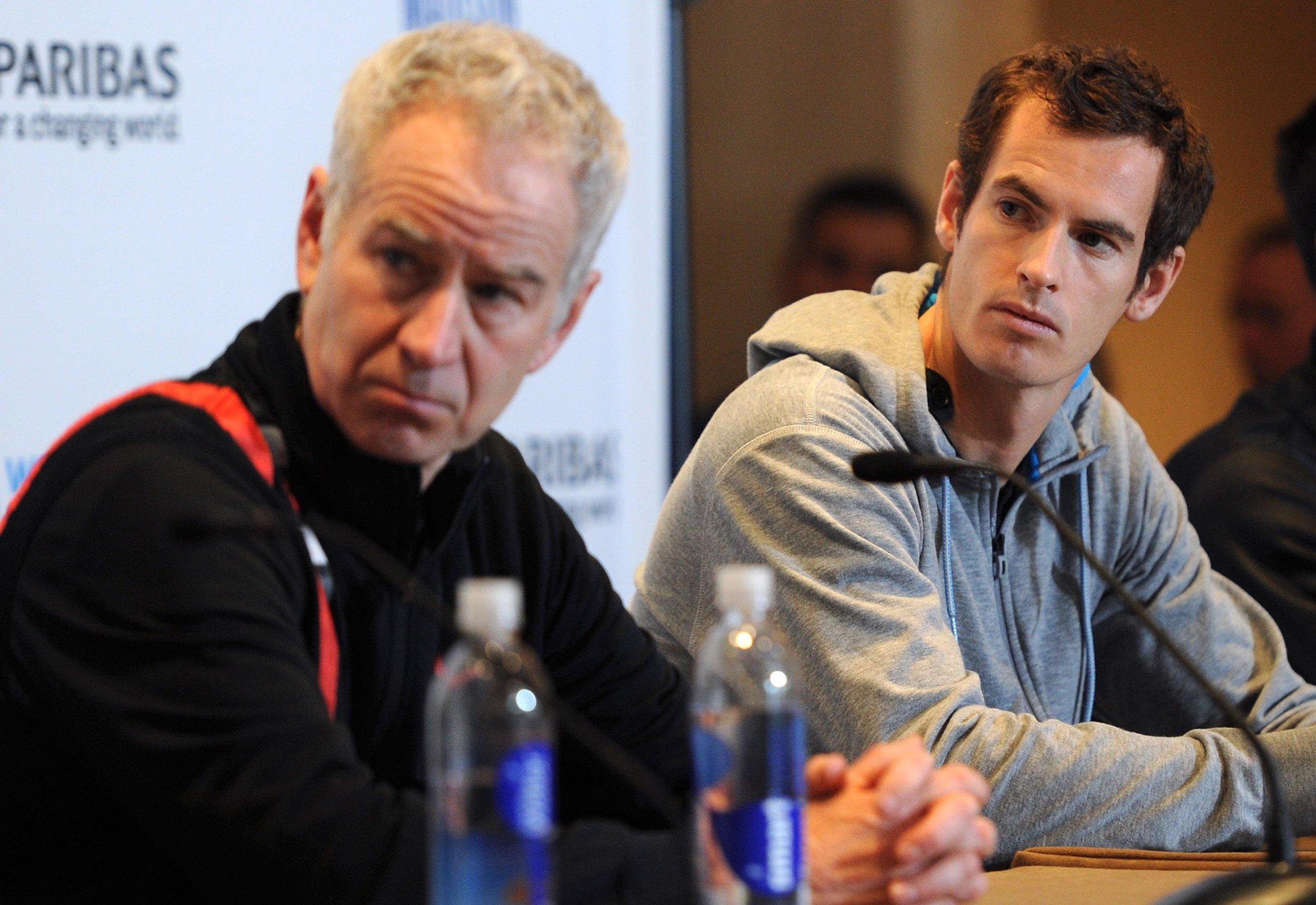 McEnroe and Murray