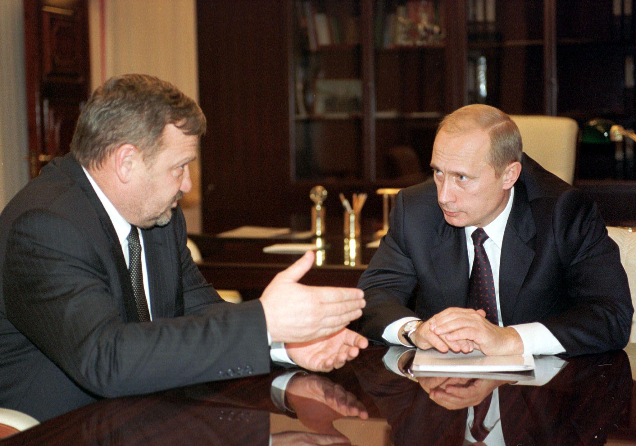Kadyrov and Putin