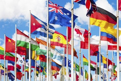 International flags of the United Nations