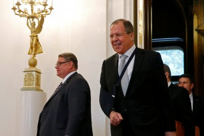 Soini and Lavrov