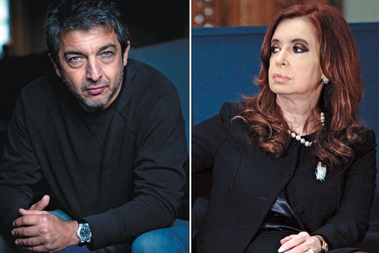 Face-off: Heartthrob Ricardo Darin vs. President Cristina Fernandez de Kirchner.