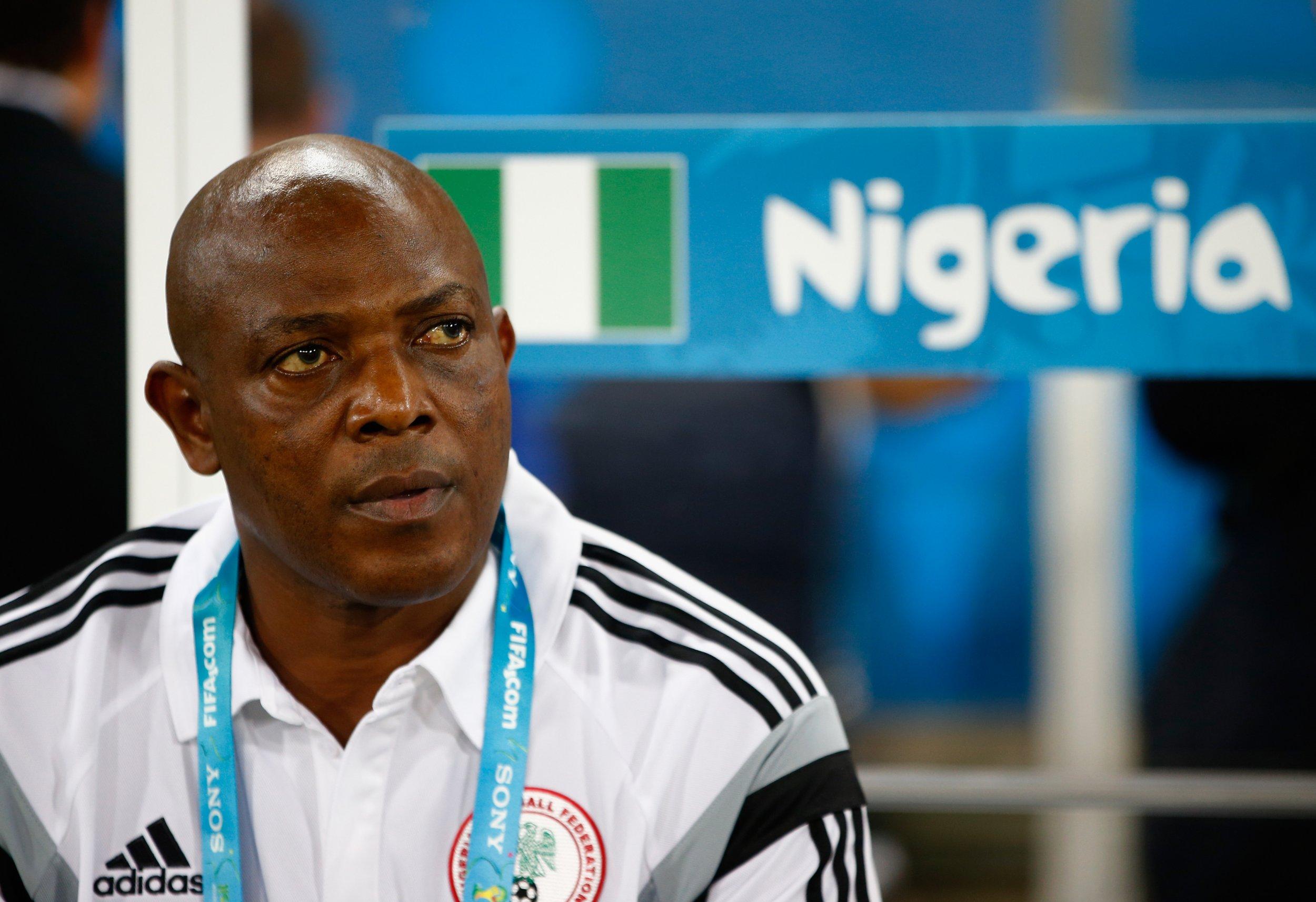 Former Nigeria coach Stephen Keshi