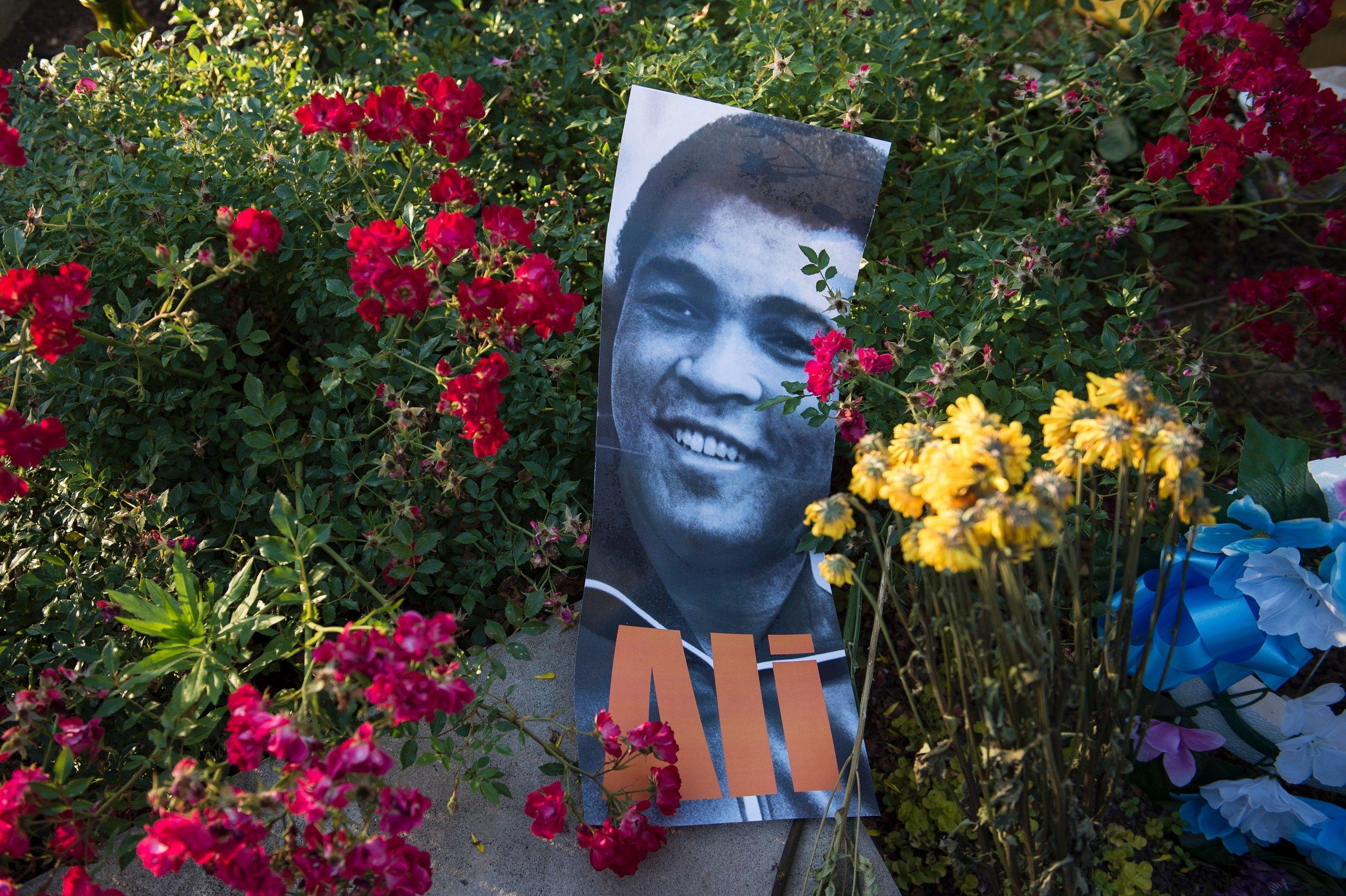 Muhammad Ali memorial in Louisville