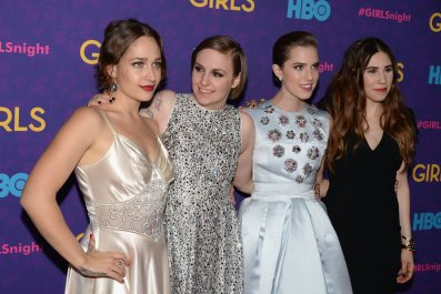 Lena Dunham and the cast of Girls