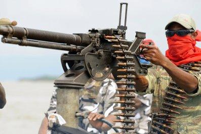 Niger Delta militant.