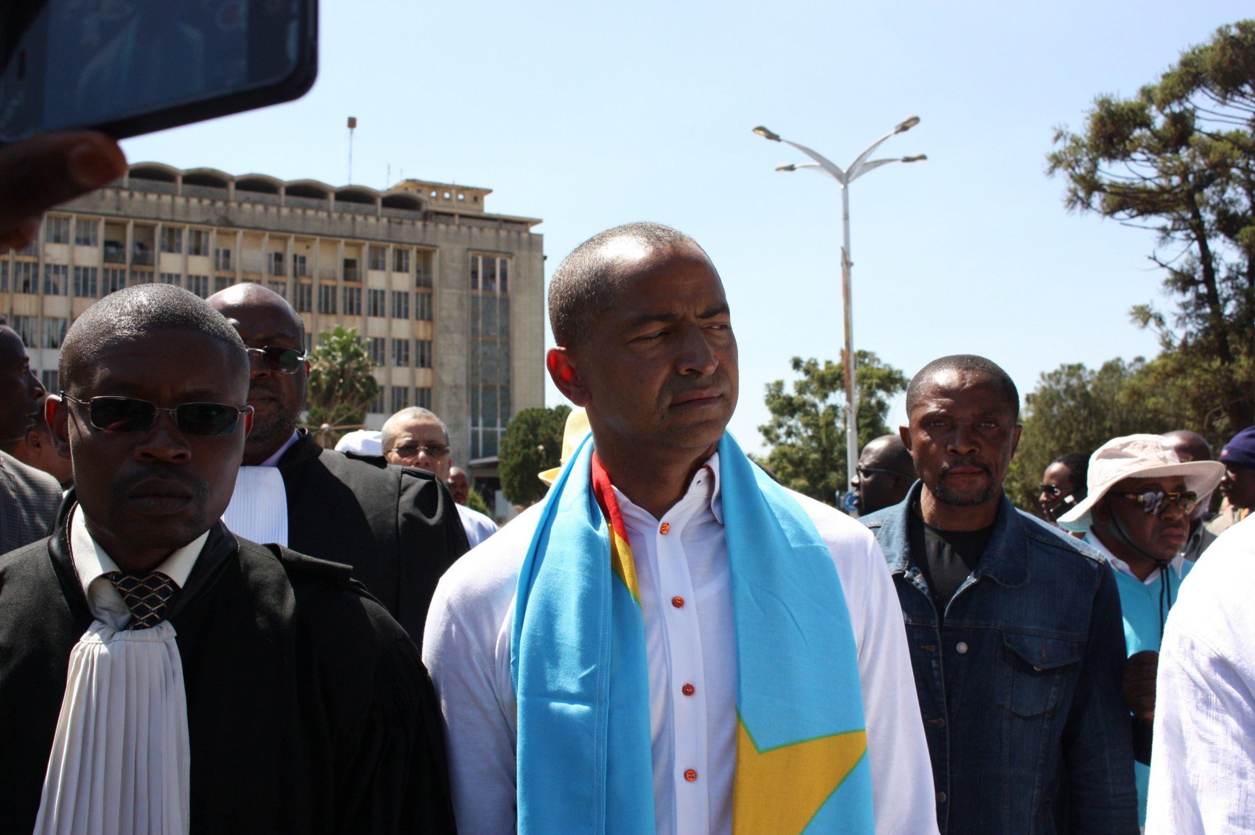 DRC presidential candidate Moise Katumbi.