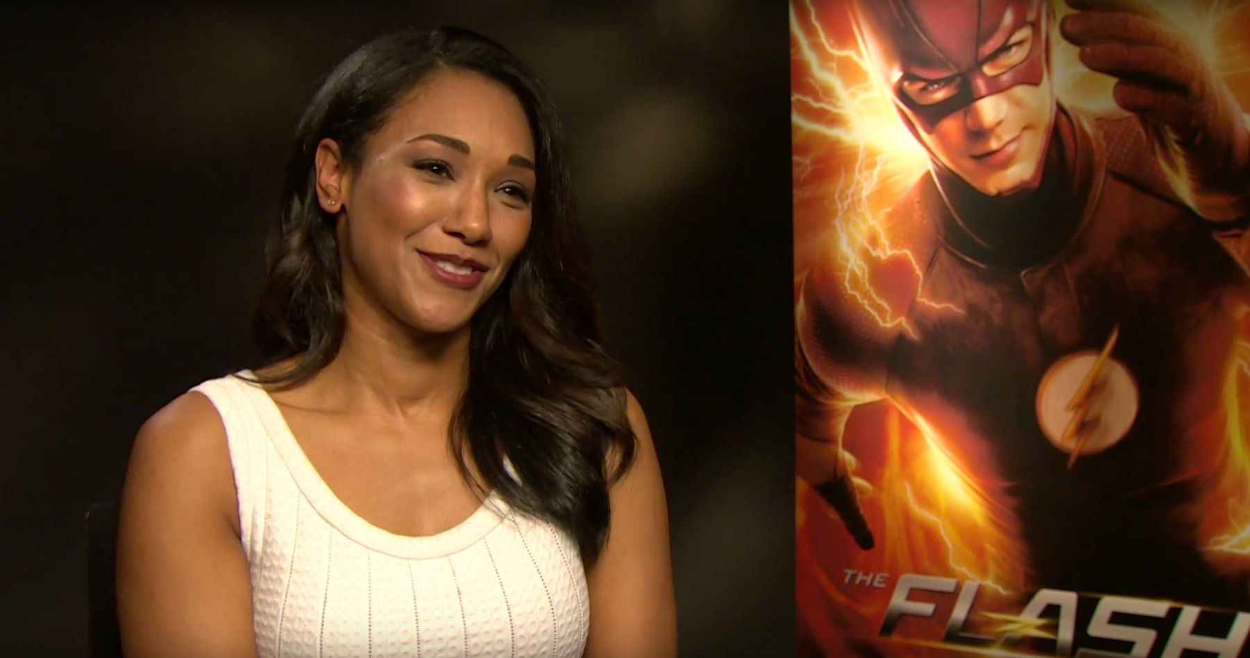 Candice Patton of The Flash