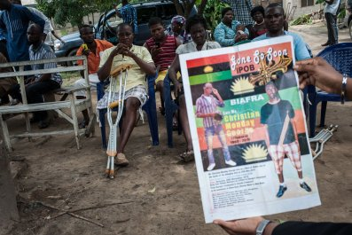 Pro-Biafra poster.