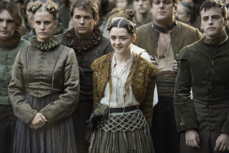 Arya in costume