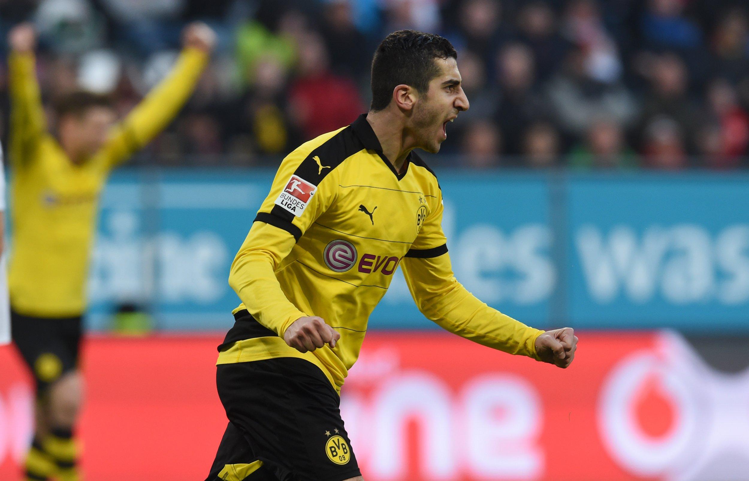 Borussia Dortmund midfielder Henrikh Mkhitaryan.