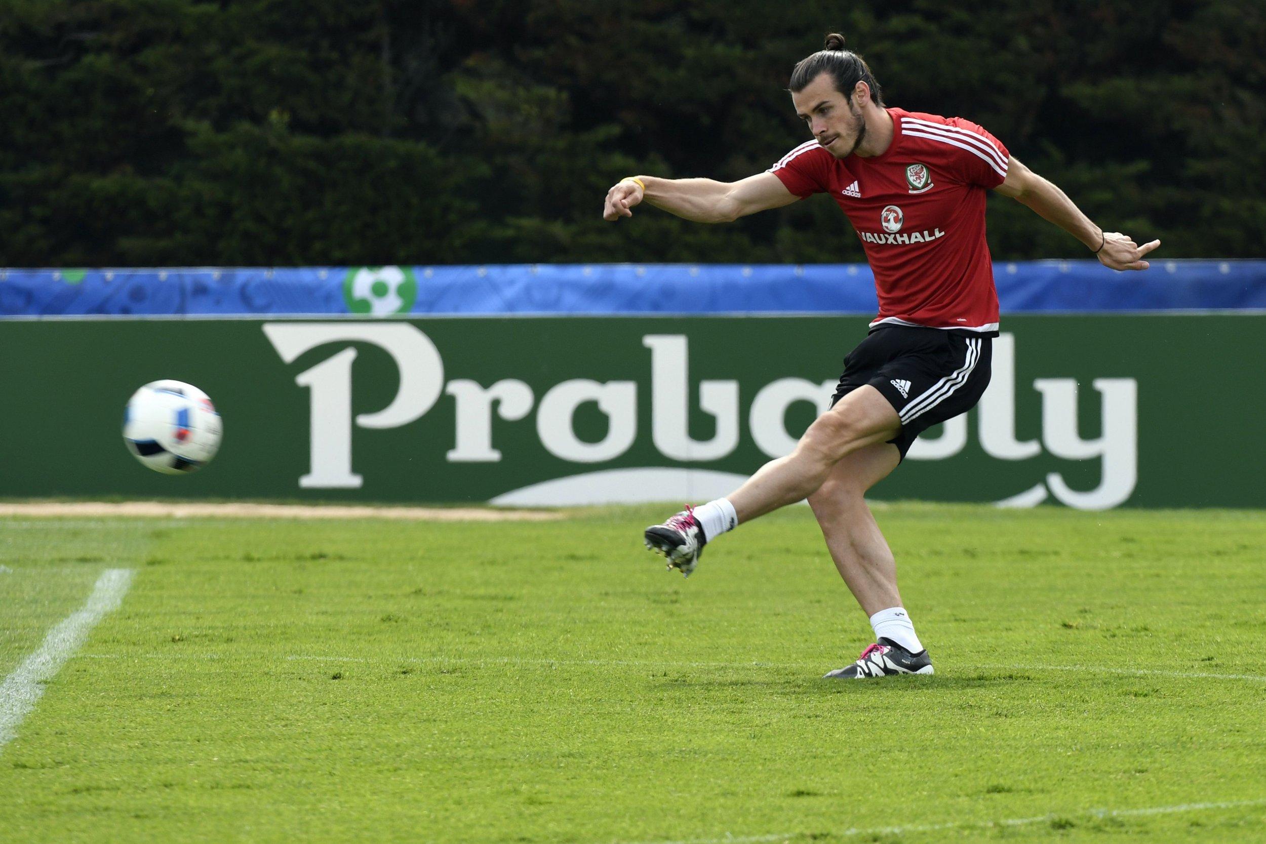 Wales star Gareth Bale