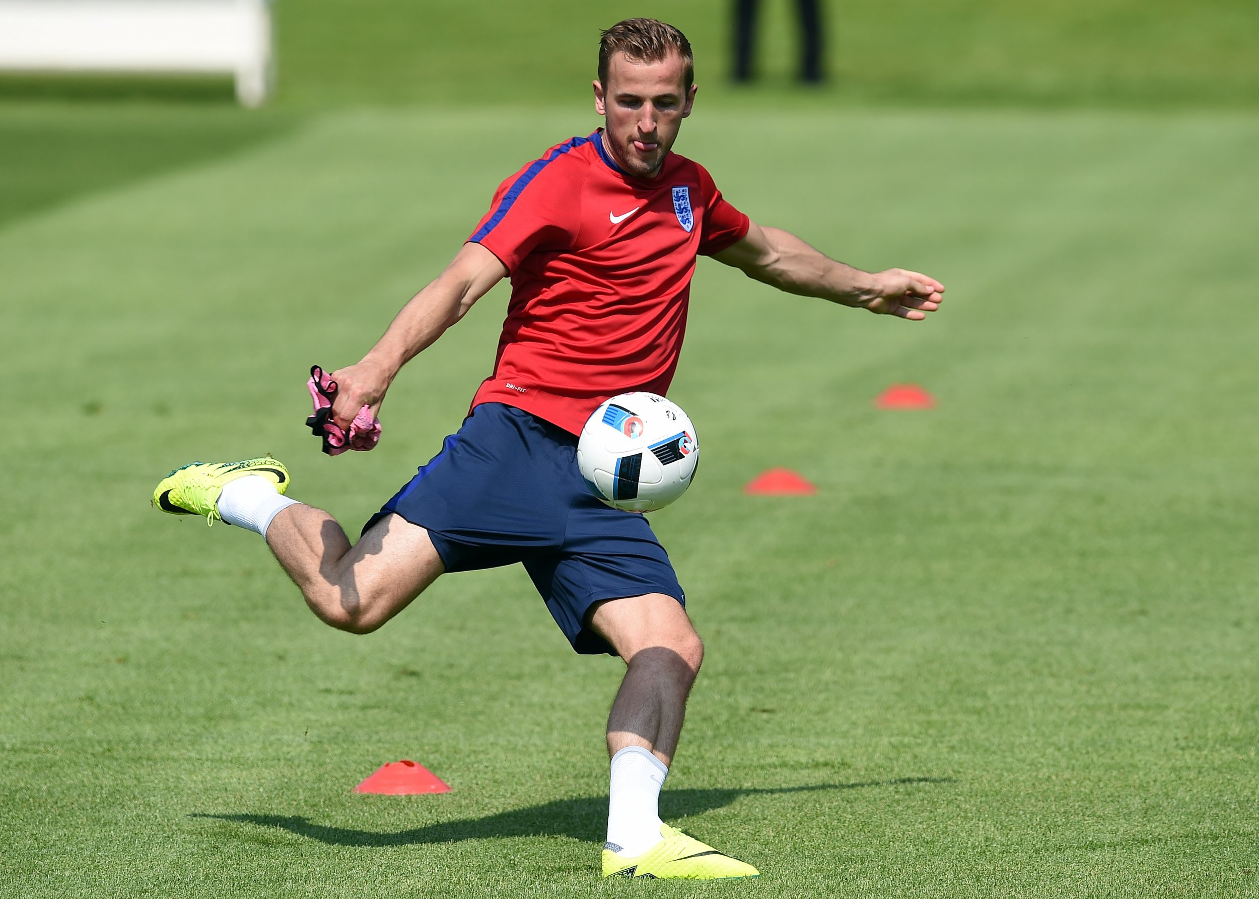 England striker Harry Kane.