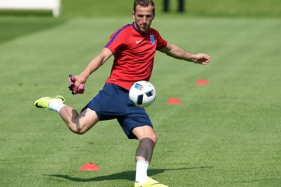 England striker Harry Kane.