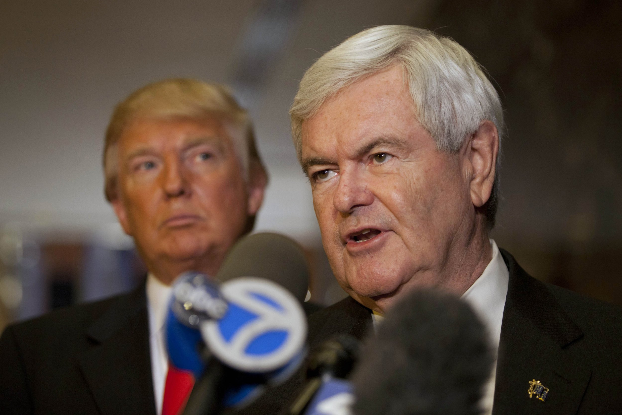 Newt Gingrich admits Trump probably lied about existence of Comey tapes