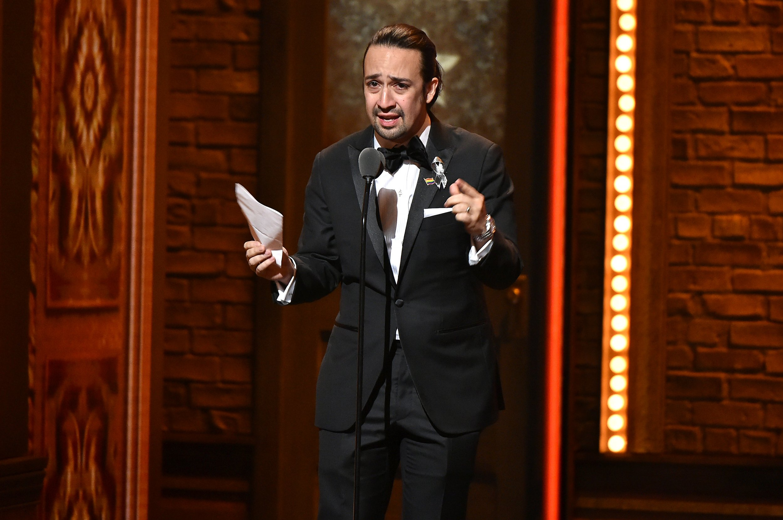 Lin-Manuel Miranda at Tony Awards