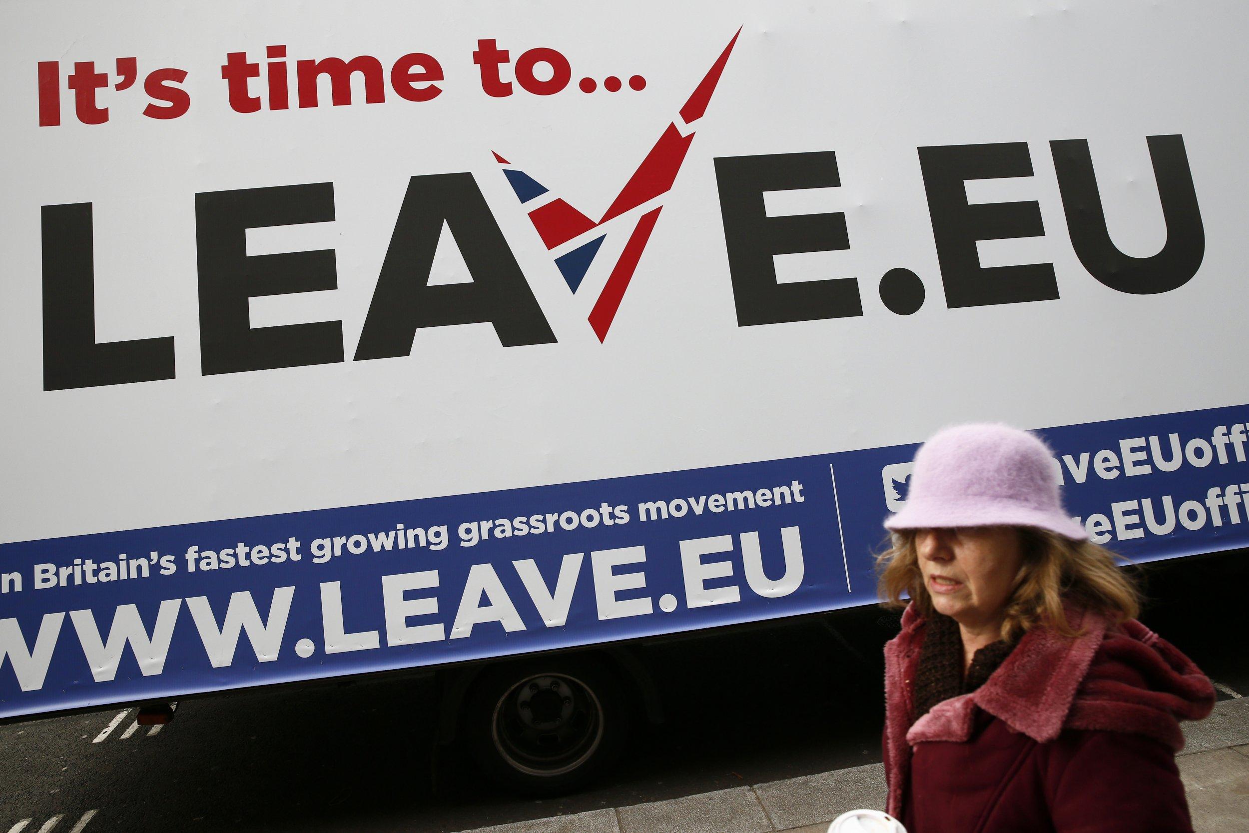 Leave.EU Poster