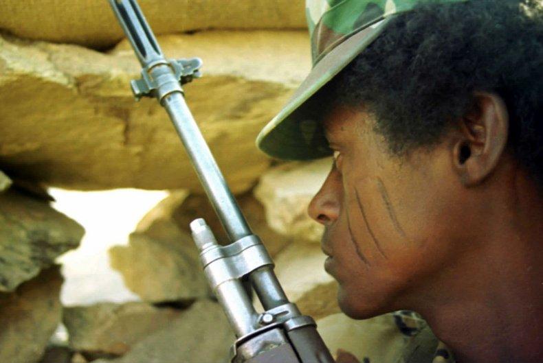 Eritrean soldier