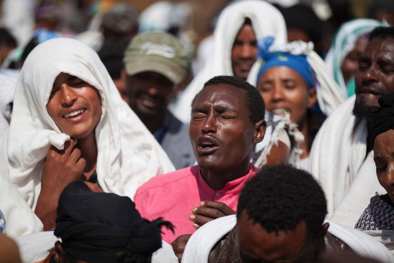 Oromia mourning