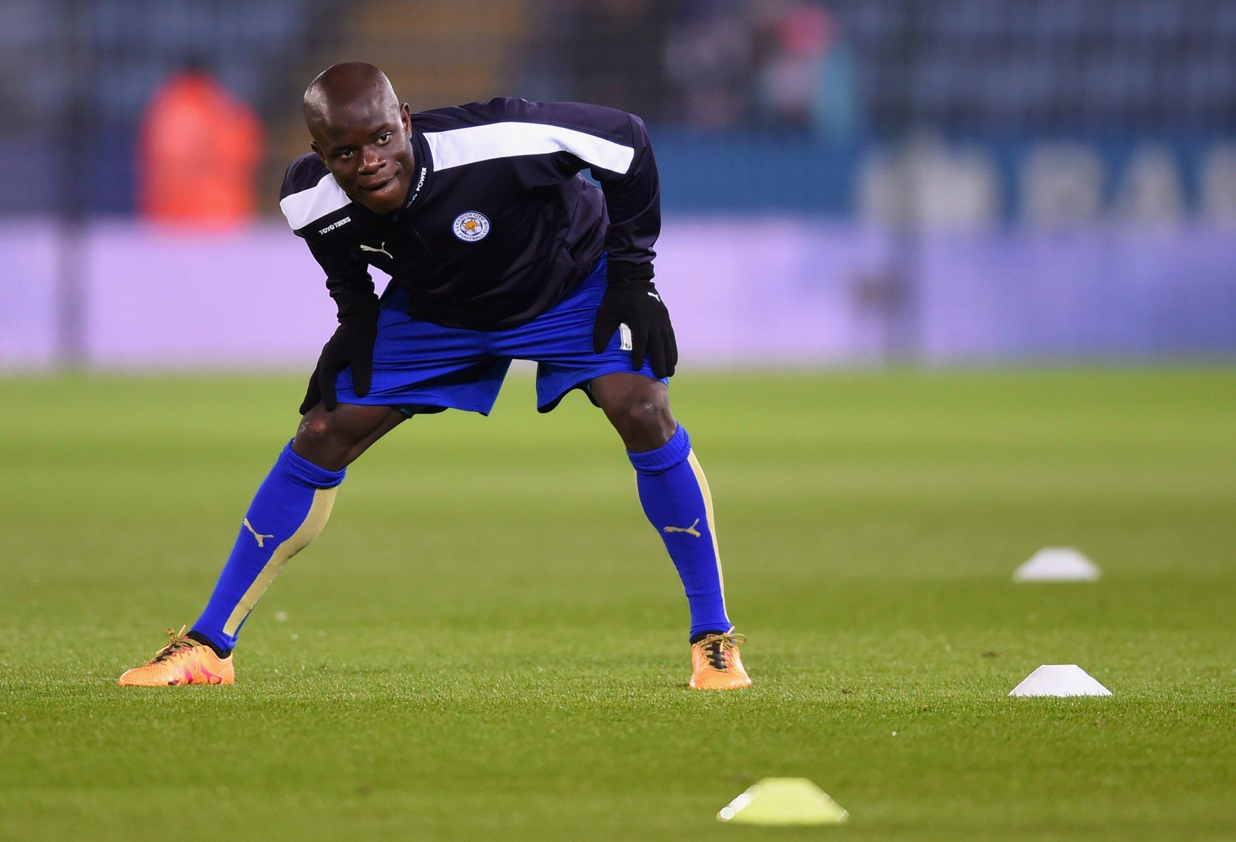 Leicester City midfielder N'Golo Kante