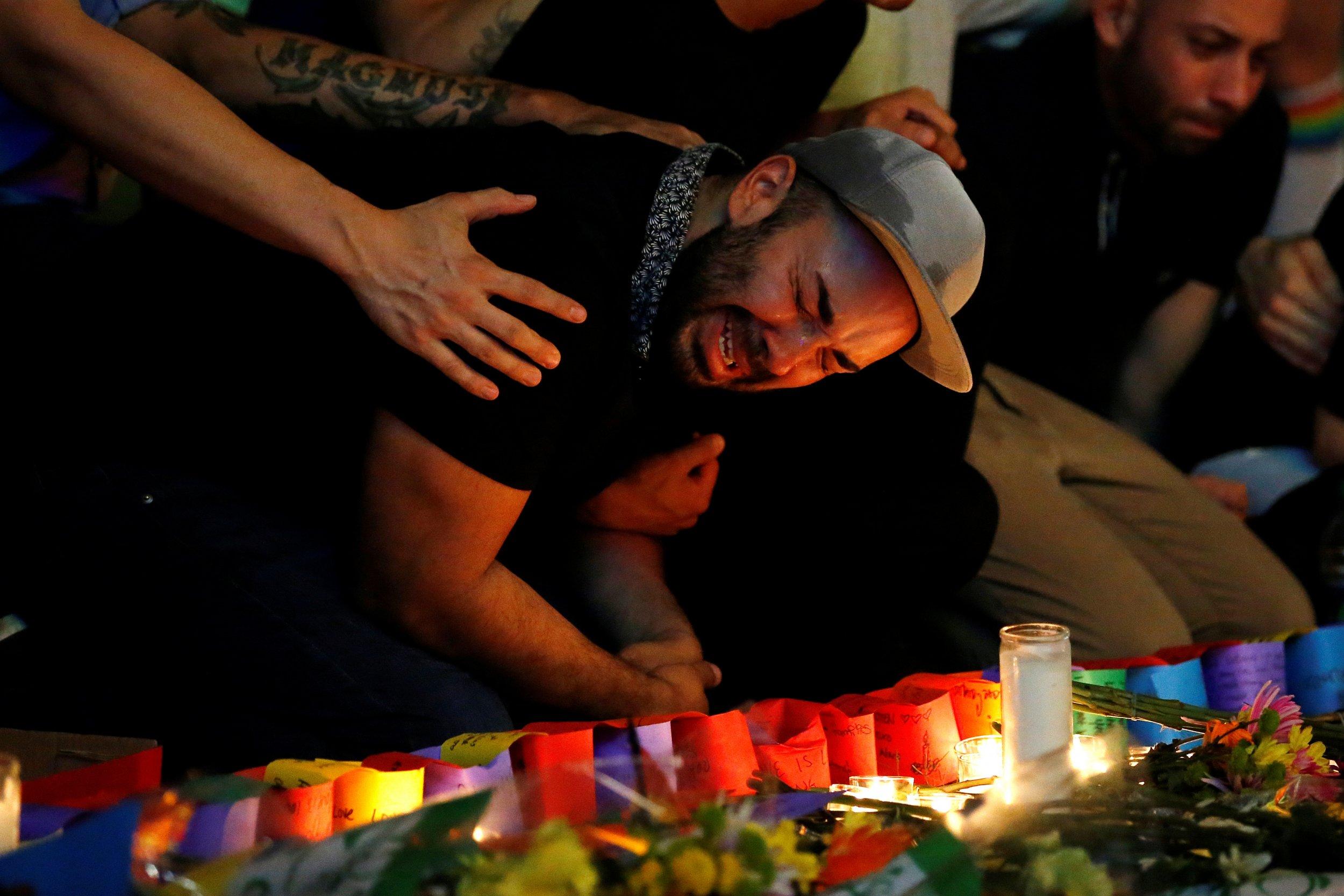 Lgbt Pride Parades Take Somber Tone After Orlando Shooting