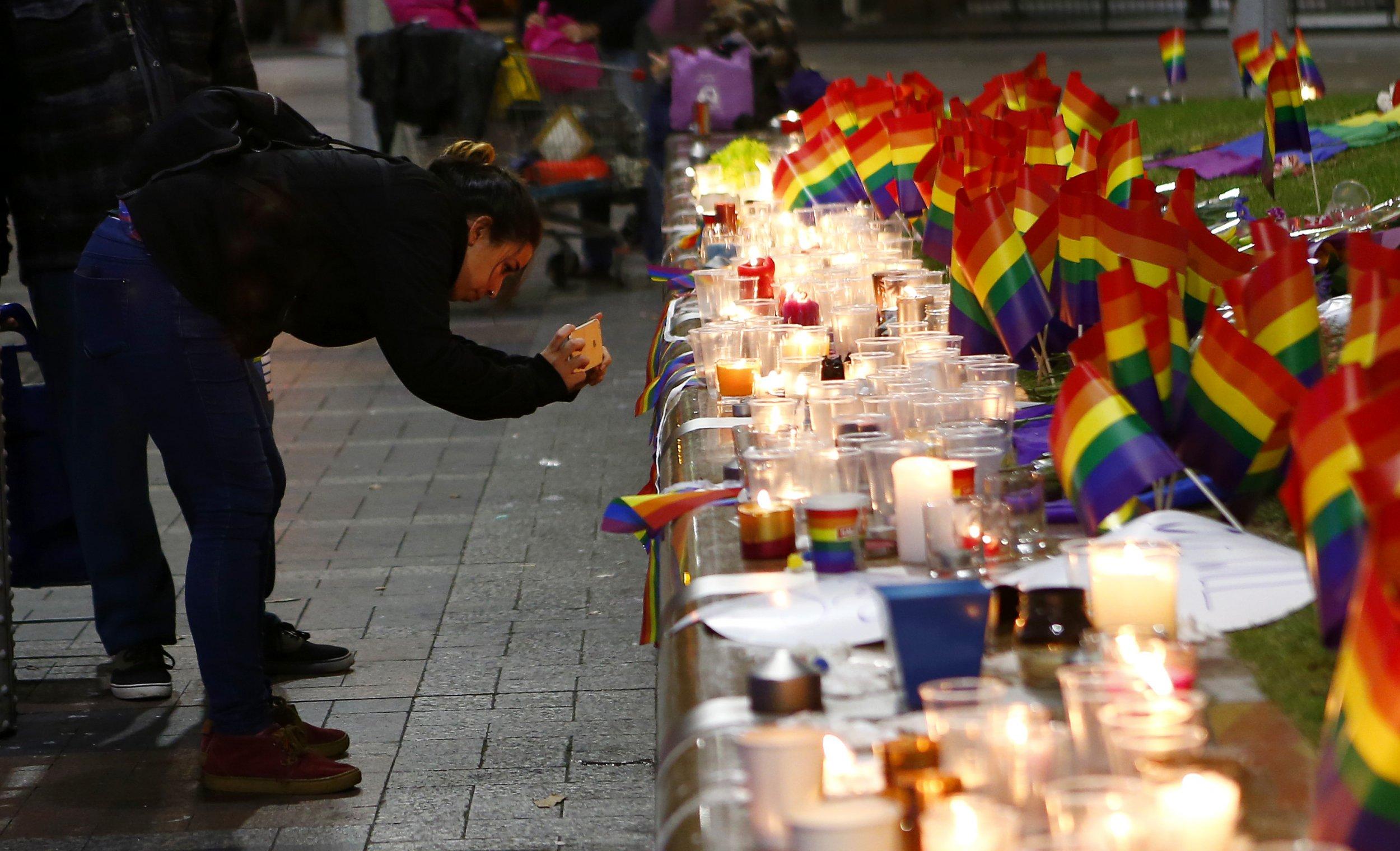 Orlando LGBT Vigil