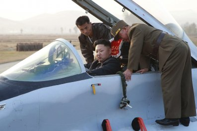 Hackers north korea f-15 kim jong un