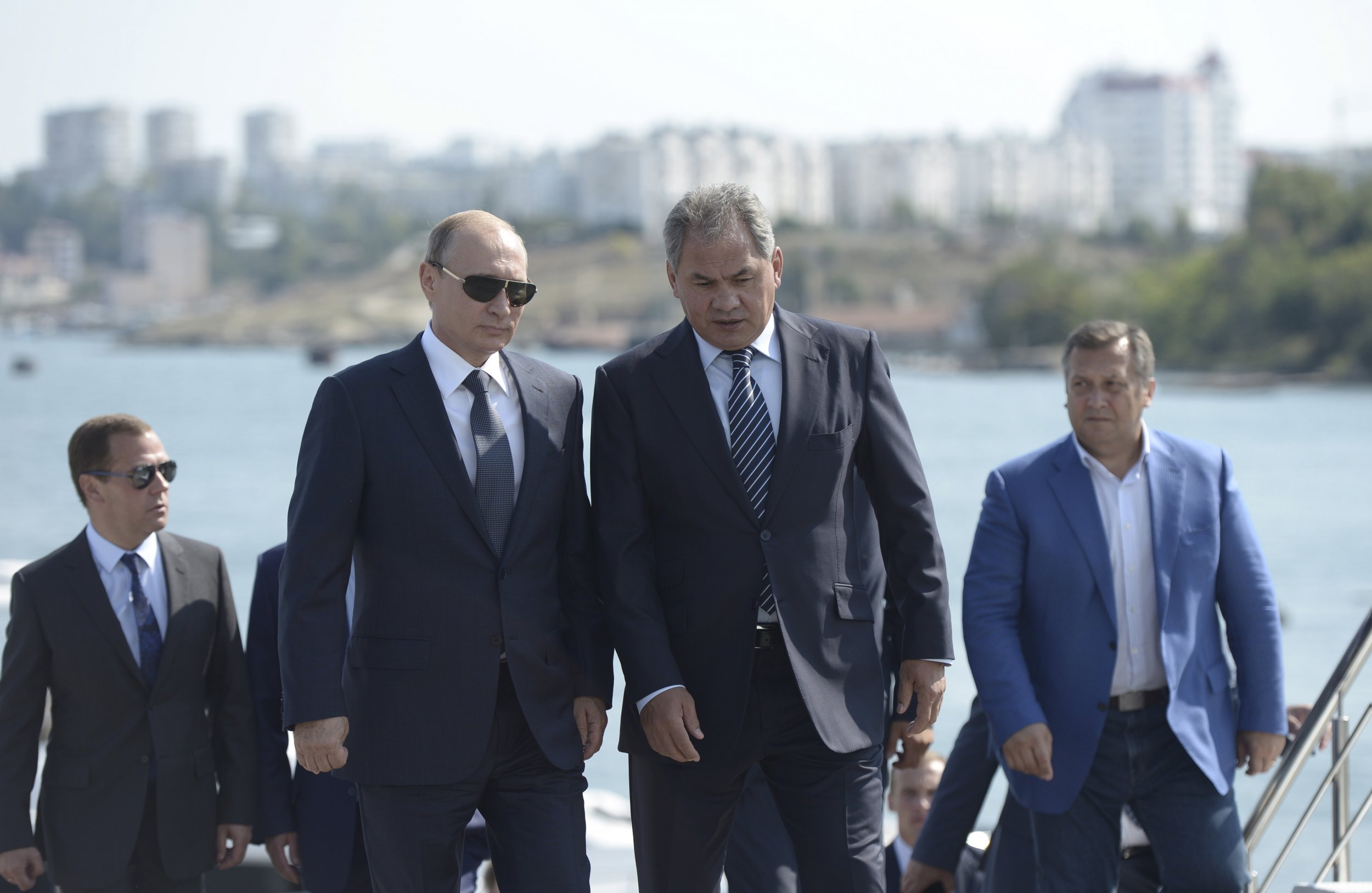 Putin and Shoygu