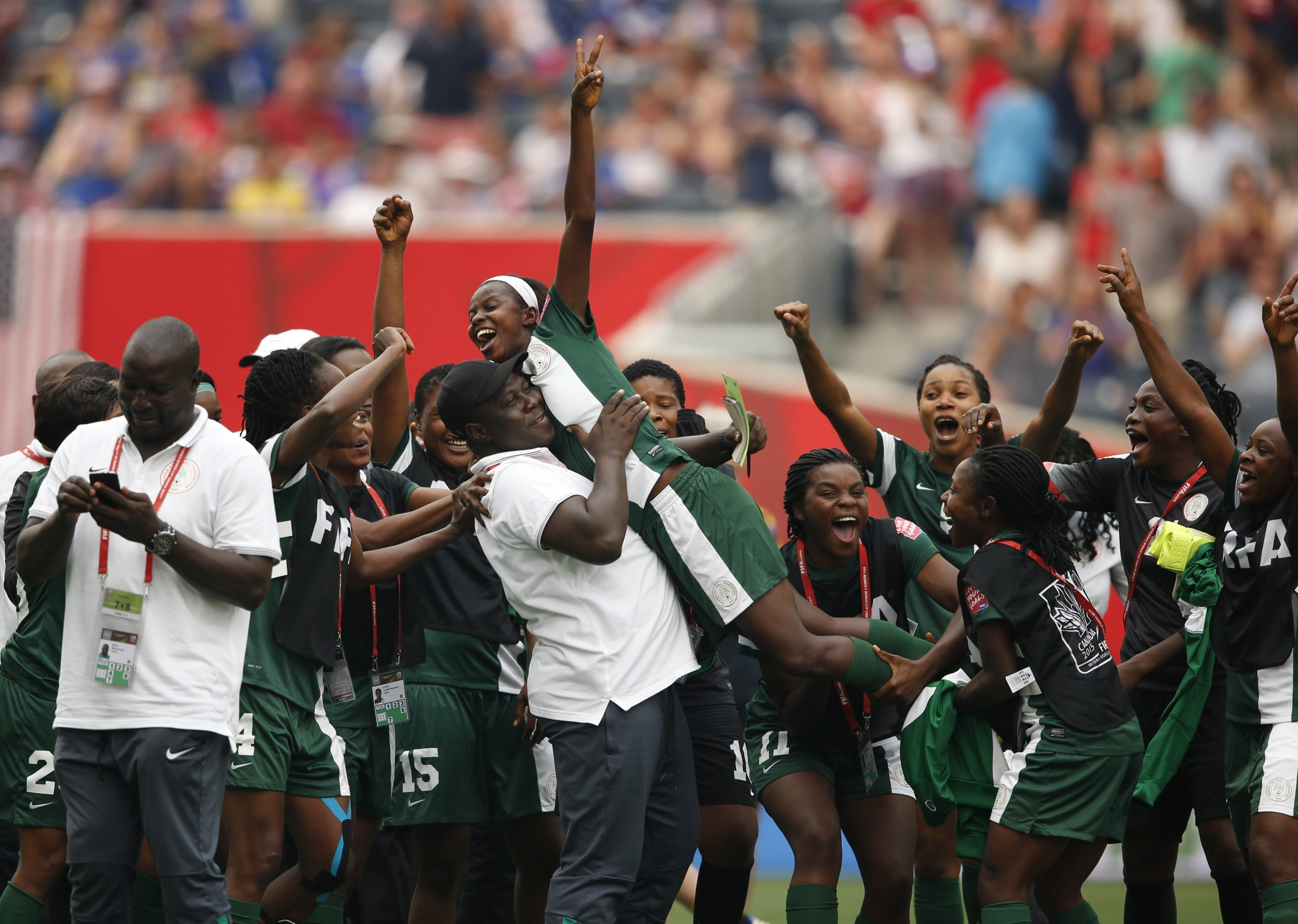 Nigeria women's football team.
