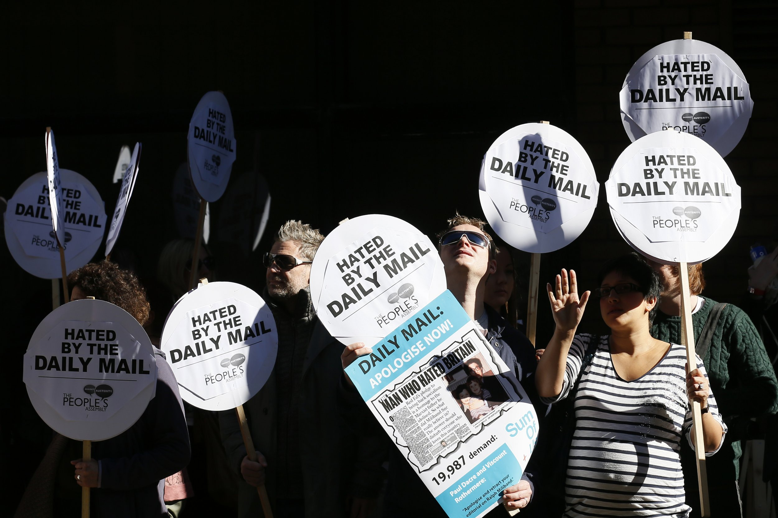 Daily Mail Protest