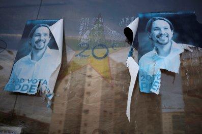 Pablo Iglesias poster