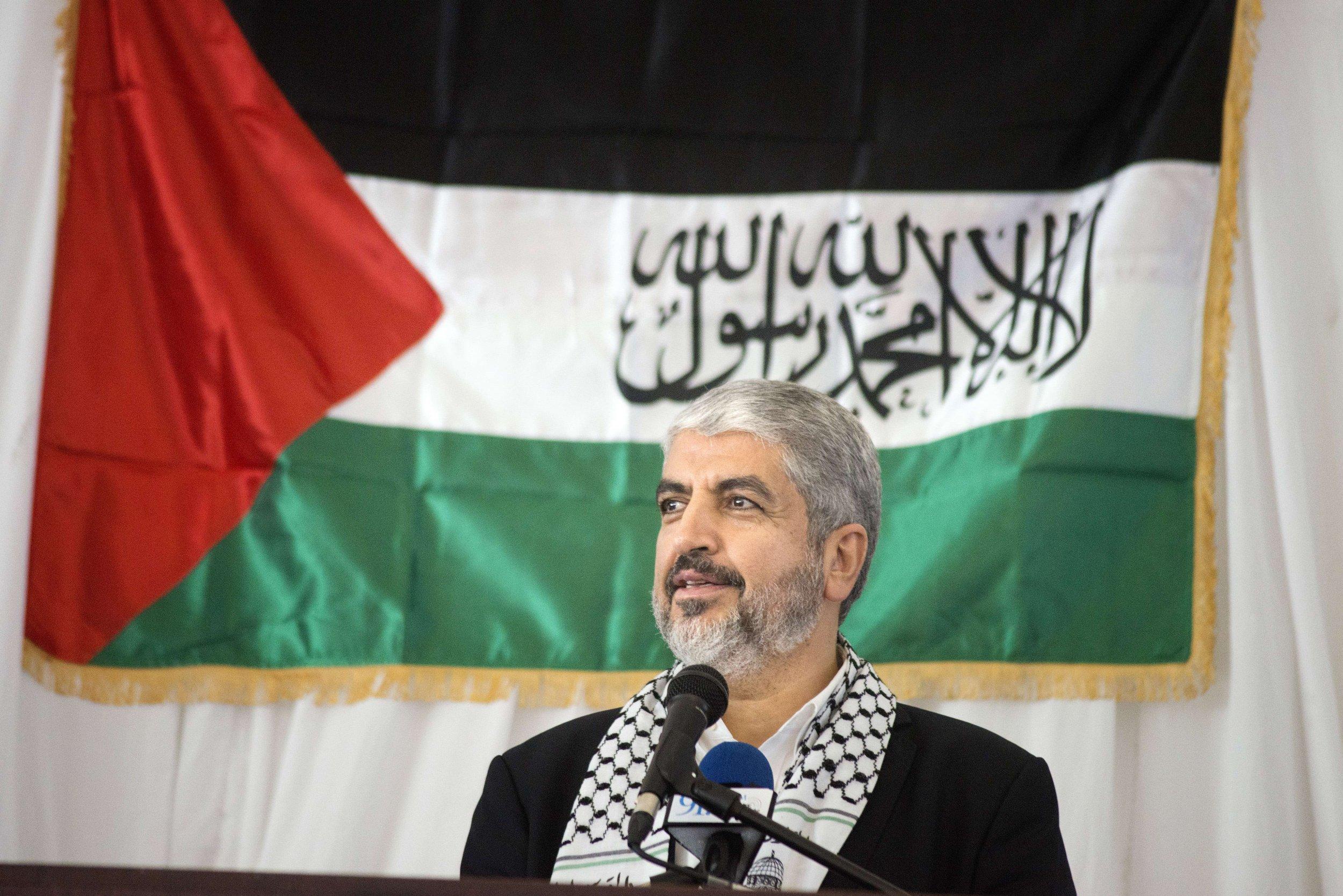 Khaled Meshaal Gaza Hamas