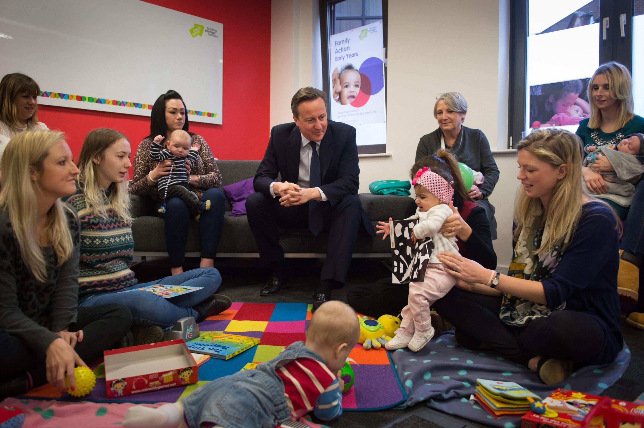 David Cameron at Family Action